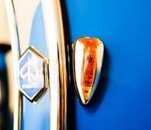 Vespa 150 Super blau von Mainroller Frankfurt