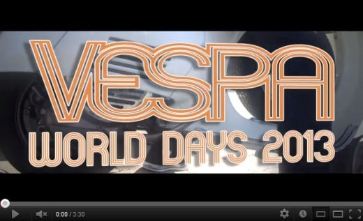 Vespa World Days 2013 Promo Video
