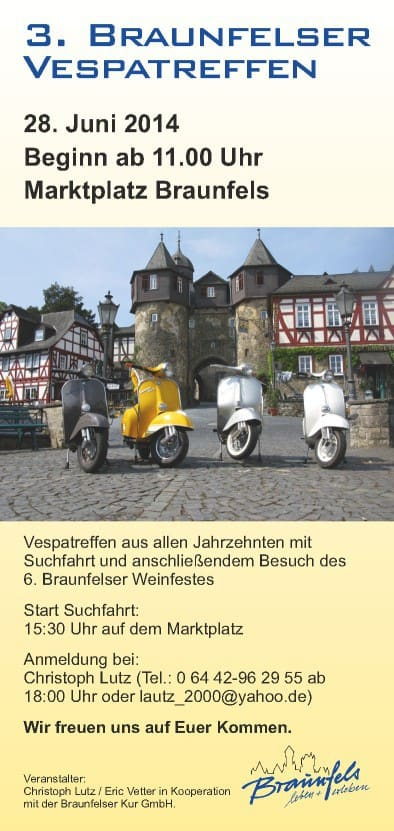 Braunfelser Vespatreffen 2014