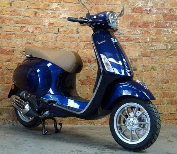 Vespa Primavera 50 iGet blau | EUR 2890