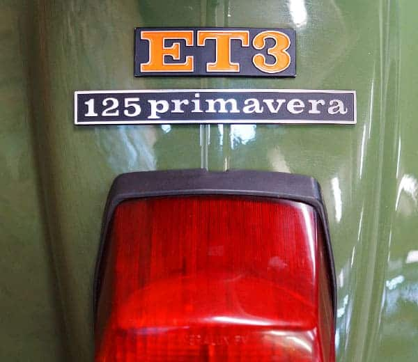 Vespa 125 Primavera ET3 von 1977