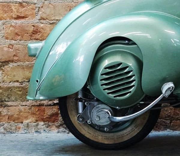 Vespa 125N (Motovespa VT) von 1954