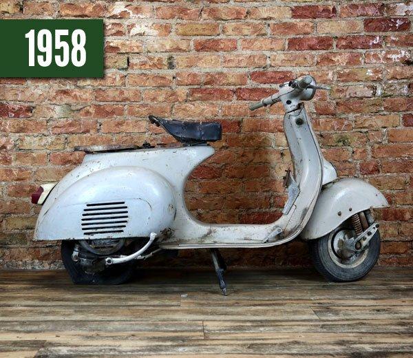 Vespa 125 VNA2T 1958 | Basis
