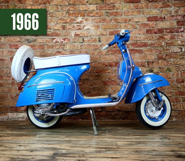 Vespa 150 Super blau
