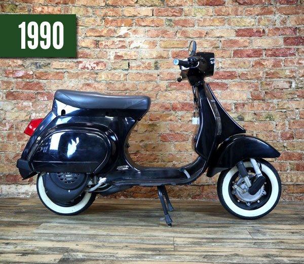 Vespa PK 50 XL2 schwarz